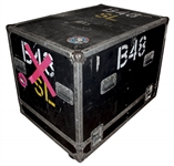 Garry Beers of INXS Tour-Used Road Case -- With LOA From Garry Beers