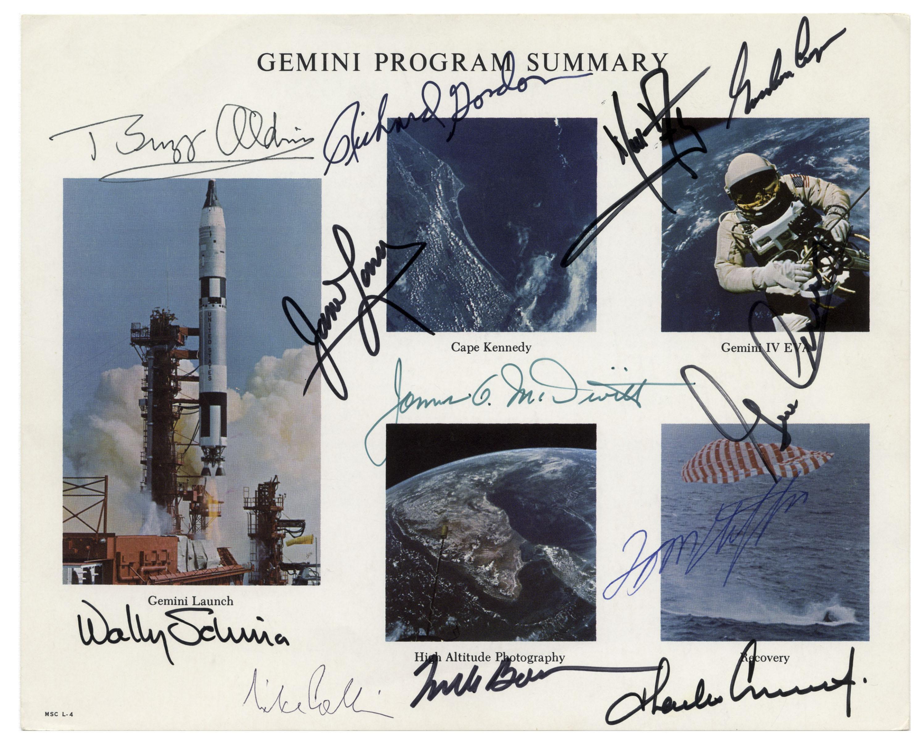 Gemini Autograph