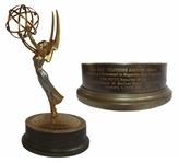 Emmy Award Presented to First Tuesday Reporter in 1970