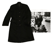 INXS Bass Player Gerry Beers Gaultier Coat -- From the 1980s