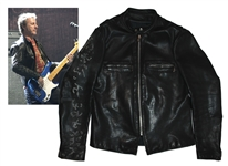 Garry Beers of INXS Stage-Worn Black Jacket -- With LOA From Garry Beers