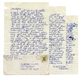 Madonna Autograph Letter Signed From 1981, With Fantastic Content -- ...I finally found a place on 8th and 30th across the street from Madison Square Garden (where someday Ill play)...