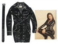 Beyonce Latex Outfit Worn During Greenlight Music Video -- With LOA & Photo From Designer
