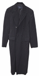 Prince Worn Pinstriped Zoot Suit Jacket