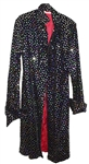 Prince Worn Velvet Sequined Stage Jacket