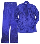 Prince Worn Blue Stage Costume