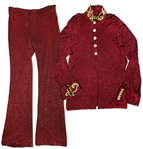 Prince Red & Gold Stage Costume