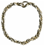 Prince Worn Gold-Tone Sterling Silver Necklace