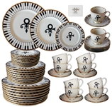 50 Piece Set of China From Princes Wedding -- Featuring Princes Love Symbol