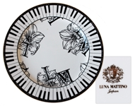 China Platter From Princes Wedding -- Featuring Piano Key Design