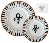 2 Piece Set of China From Princes Wedding -- Featuring Princes Love Symbol