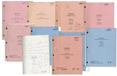 Lot of 10 Sanford & Son Scripts Owned by Redd Foxx -- From Redd Foxx Estate