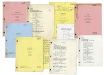 Lot of 10 Scripts Owned by Redd Foxx -- 8 Sanford & Son Scripts, The Jacksons Script & Series Premiere Script of Sanford & Son Spinoff Show, Grady -- From Redd Foxx Estate