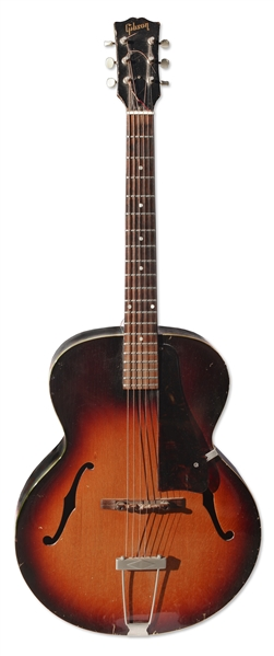 1959 Gibson L-Series Guitar Used by Prince to Compose & Record Early Demo Tracks -- Prince Was Famously Photographed With the Favorite Guitar in Early Promotions