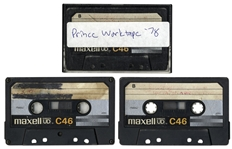 "Amazing, One-of-a-Kind 1978 Cassette Tape Containing Six Early Songs by Prince -- Includes an Early Version of ""Sometimes It Snows in April"" -- From Former Prince Guitarist Dez Dickerson"