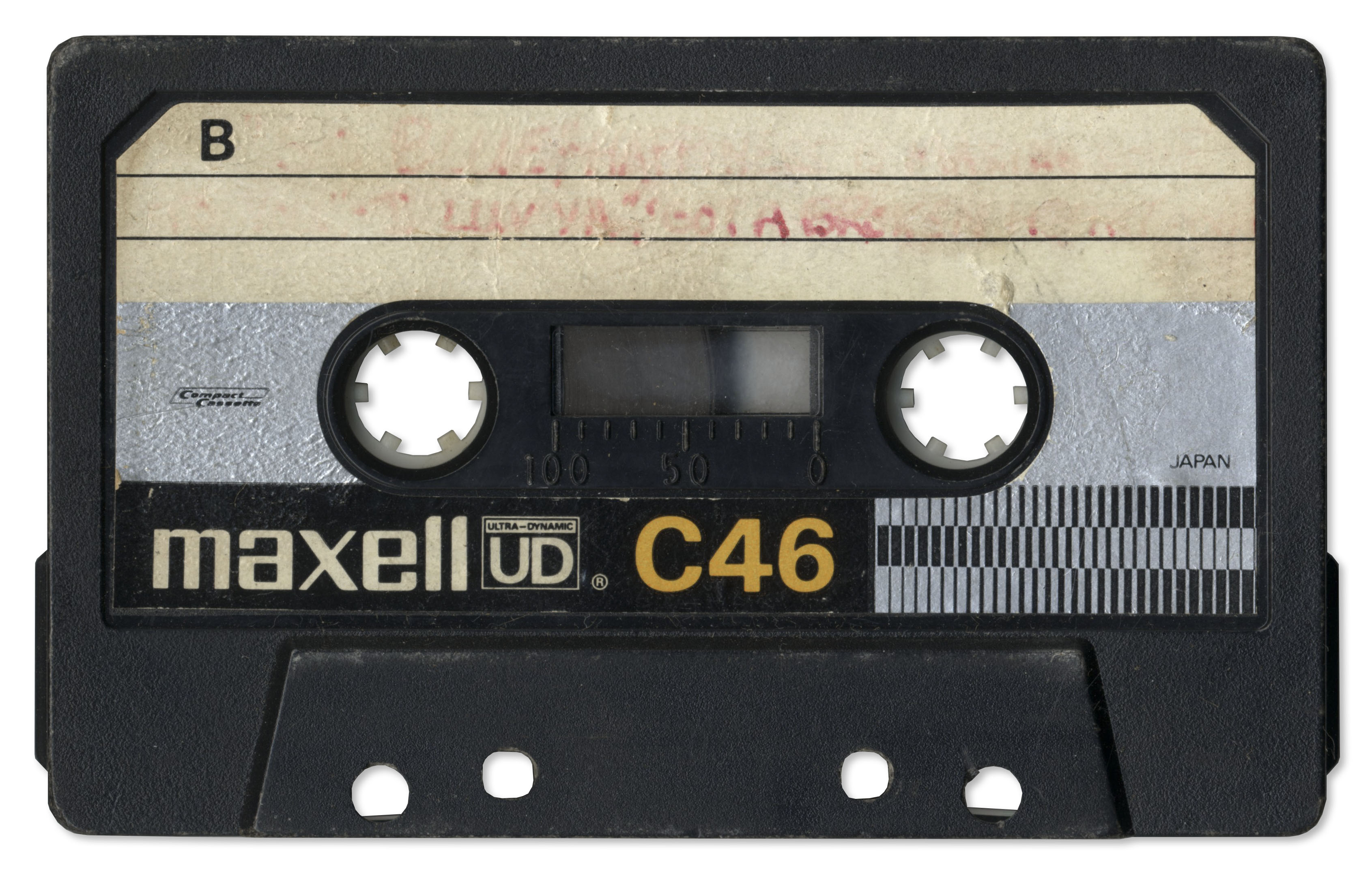 Lot Detail - Amazing, One-of-a-Kind 1978 Cassette Tape ...