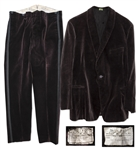 John Steinbecks Personally Owned Custom-Made Velvet Tuxedo -- With LOA From Thomas Steinbeck