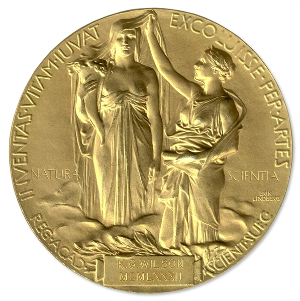 Nobel Prize Awarded to Physicist Kenneth G. Wilson in 1982 -- One of the Kingpins of Quantum Physics