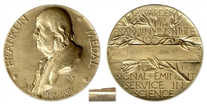 Franklin Institute Medal Awarded to Theoretical Physicist Kenneth Wilson -- Americas Oldest Ongoing Science Award Program