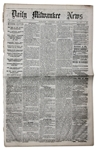 1865 Lincoln Assassination Trial Newspaper -- Firsthand Testimony