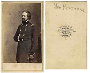 General William Rosecrans Civil War CDV -- With Anthony Backmark, From Brady Negative -- 2.5 x 4 -- Very Good Condition