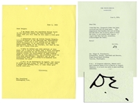 Dwight D. Eisenhower Typed Letter Signed as President -- To His Brother, Edgar -- ...If Congress adjourns, Mamie and I have tentative plans to be in Denver in August...