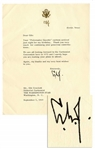 Lyndon B. Johnson Typed Letter Signed to Famous Cartoonist Gib Crockett -- ...We are all looking forward to the cartoonist convention...