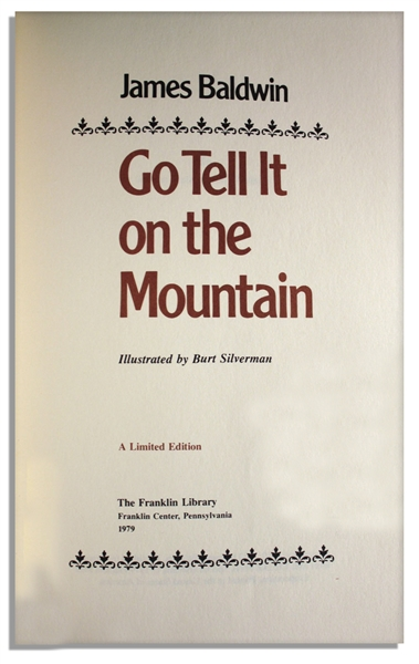 go tell it on the mountain by james baldwin essay James baldwin - james baldwin another country and go tell it on the mountain are two of james baldwin's most analyzed novels some see both novels as great additions to american literature, while others criticize baldwin's unique.