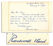 Artist and Writer Rockwell Kent Autograph Note Signed