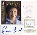 Laura Bush Signed Spoken From the Heart