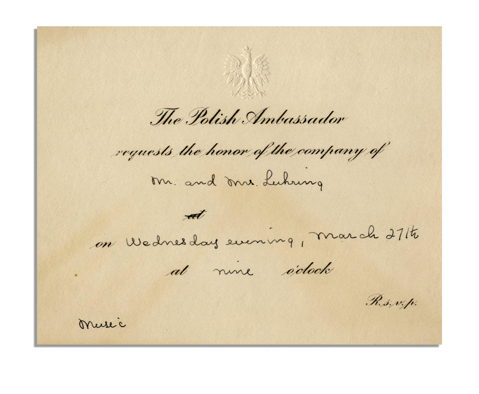 Fantastic 1930s Wedding Invitations Photo - Invitation Card Ideas ...