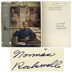 Norman Rockwell Autobiography My Adventures as an Illustrator Signed