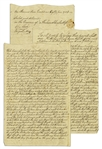 1784 Deed to Property in New Brunswick, New Jersey -- ...previous to the late Revolution...