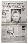 Princess Graces Death Announced in Her Hometown Newspaper
