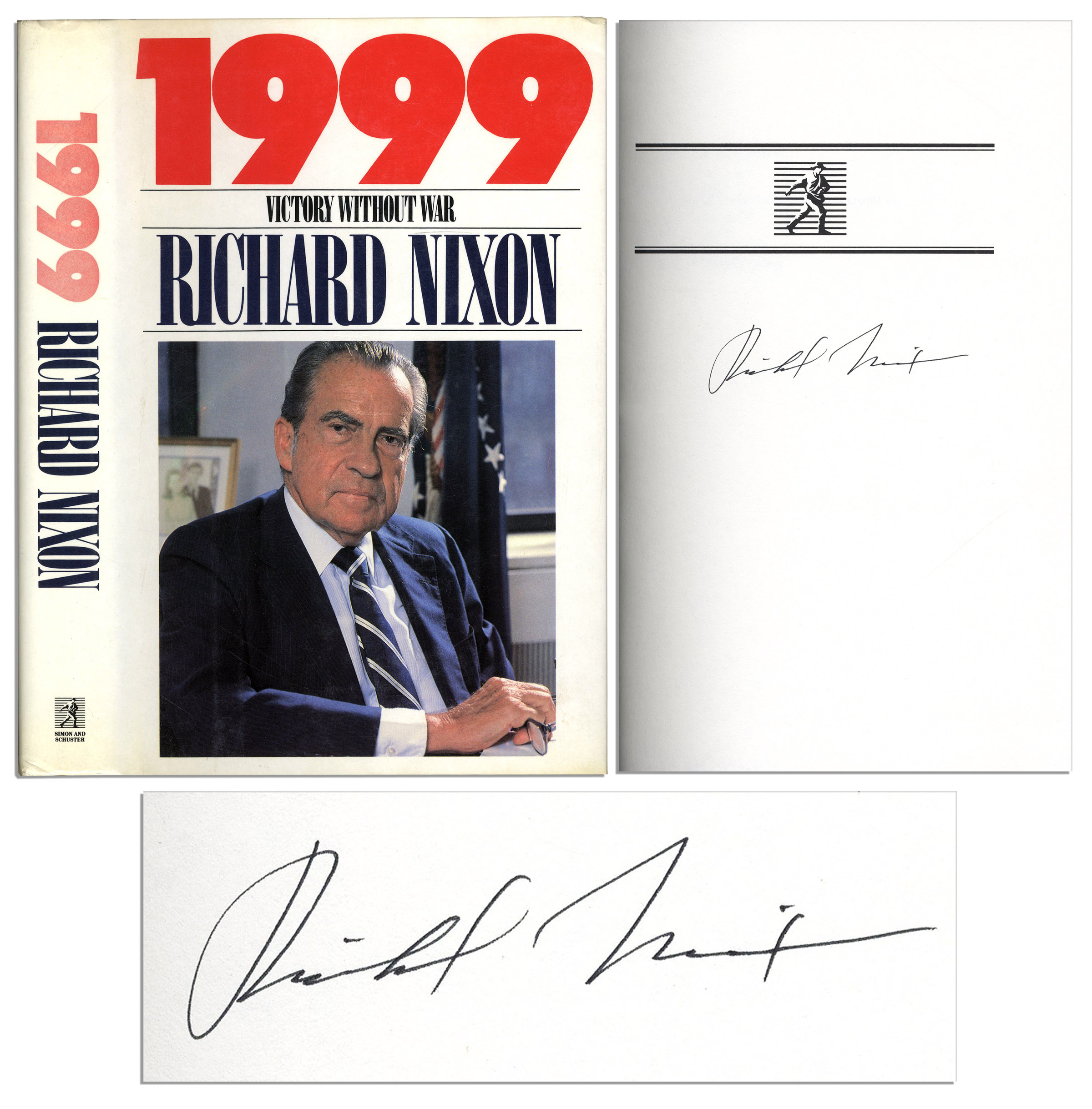 Lot Detail  Richard Nixon Signed First Edition Of His Book   Richard Nixon Signed First Edition Of His Book   Victory Without  War  Argumentative Essay Thesis also Example Of A Good Thesis Statement For An Essay  Student Life Essay In English