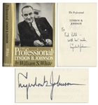 Lyndon B. Johnson First Edition of The Professional Signed