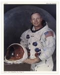 Neil Armstrong Signed 8 x 10 Photo, Uninscribed -- With PSA/DNA COA