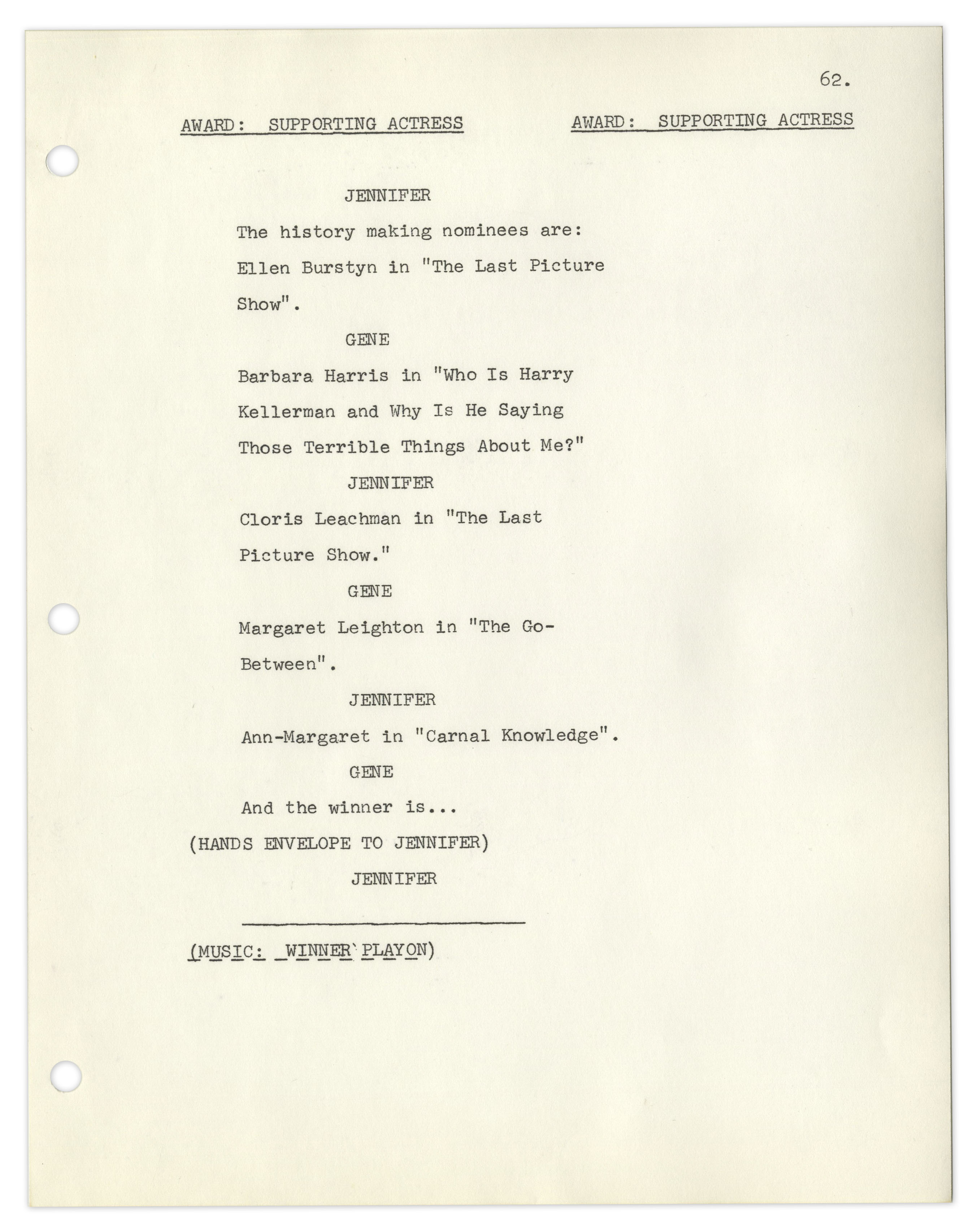 lot detail complete first draft production script and invitation
