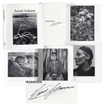 Ansel Adams Signed Ansel Adams Photography Book -- Beautiful Compilation of Photographs