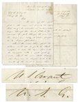 Ulysses S. Grant Autograph Letter Twice-Signed From 1863 -- Grant Orders Barges to Be Sent Through Canal at the Height of the Civil War