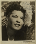 Billie Holiday 8 x 10 Signed Photo -- With PSA/DNA COA