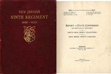 New Jerseys Ninth Regiment 1861-1905: Report of State Commission for Erection of Monument to Ninth New Jersey Vols.