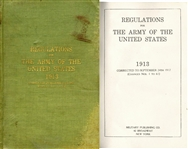 1913 Army Regulations Manual
