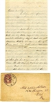1862 Civil War Letter by 90th Pennsylvania Infantryman -- ...we got sudden order to march to york town...they said that our troop was geting lick...