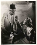 Rare Sydney Greenstreet 8 x 10 Signed Photo From Casablanca -- With PSA/DNA COA
