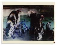 Danny DeVito Signed 10 x 8 Photo as Batmans Nemesis The Penguin -- Very Good Condition -- With Mike Wehrmann COA