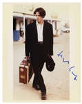 Hugh Grant Signed Photo -- 8 x 10 Glossy Signed in Blue Ink -- Near Fine Condition -- With Michael Wehrmann COA