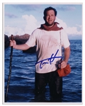 Tom Hanks Signed 8 x 10 Photo From Cast Away