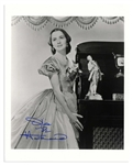 Olivia de Havilland Signed 8 x 10 Photo From Gone With the Wind