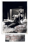 1940s Screen Siren Marilyn Maxwell 8 x 10 Signed Photo